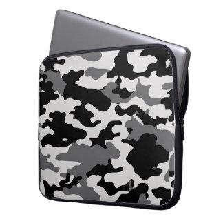 BLACK CAMO - Electronics Bag Laptop Sleeves