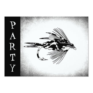 Black Camo Fly Fishing lure Card