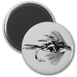 Black Camo Fly Fishing lure Magnets