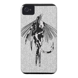 Black Camo Fly iPhone 4 Case-Mate Case