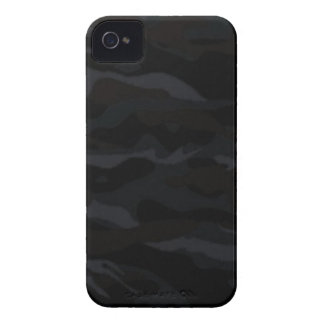 Black Camo iPhone 4 Cover