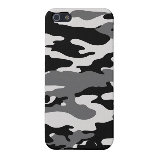 Black Camo - Iphone case iPhone 5/5S Covers
