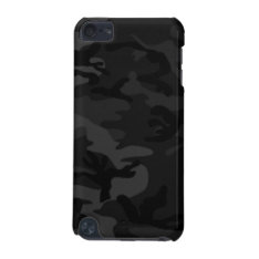 Black Camo Ipod Touch Case at Zazzle