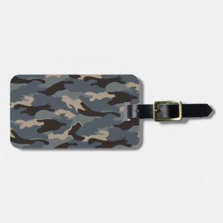 BLACK CAMO TAG FOR BAGS