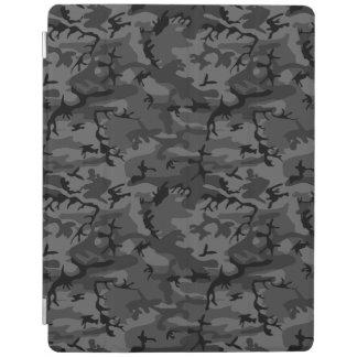 Black Camo Pattern iPad Cover