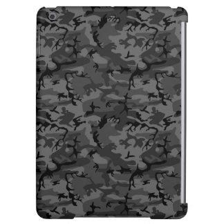 Black Camo Pattern iPad Air Cases