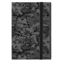Black Camo Pattern iPad Mini Case