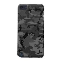Black Camo Pattern iPod Touch 5G Case