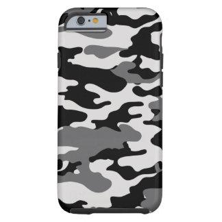 Black Camo Tough iPhone 6 Case