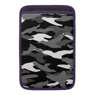 Black camouflage MacBook air sleeves