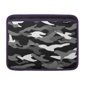 Black camouflage MacBook sleeve