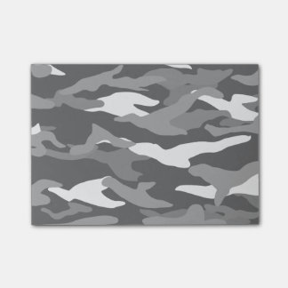 Black camouflage post-it® notes