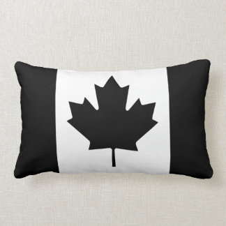 Black Canada Country Flag Pillows