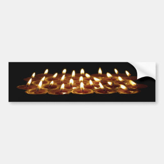 Black Candles Bumper Stickers