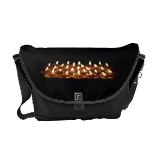 Black Candles Messenger Bag