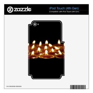 Black Candles iPod Touch 4G Decal