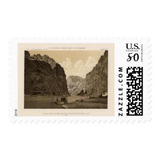 Black Canon, Colorado River 2 Postage