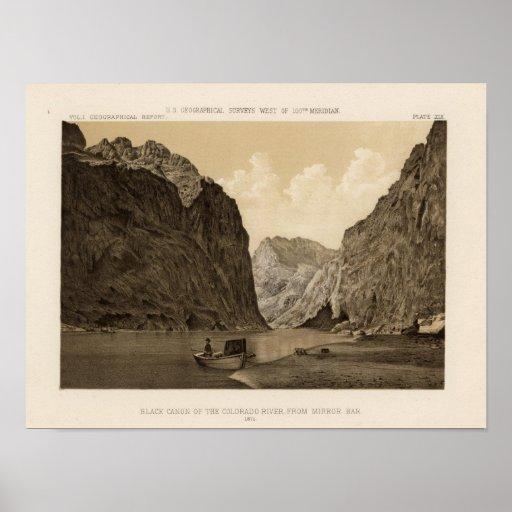 Black Canon, Colorado River 2 Print