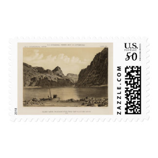 Black Canon, Colorado River Postage