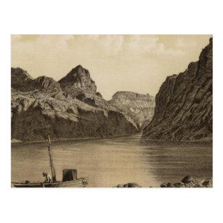 Black Canon, Colorado River Postcard
