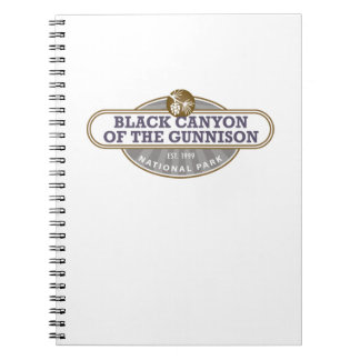 Black Canyon Gunnison National Park Spiral Notebooks
