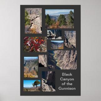 Black Canyon of the Gunnison Custom Travel Poster