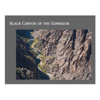 Black Canyon of the Gunnison National Park Postcard