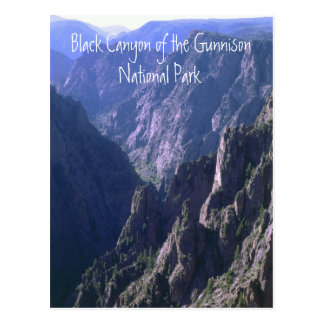 Black Canyon of the Gunnison NP Postcard