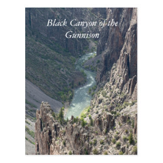 Black Canyon of the Gunnison Postcard