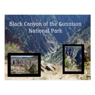 Black Canyon of the Gunnison Travel Postcard