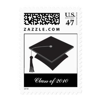 Black Cap Graduation Postage
