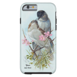 Black Cap Warbler Case For iPhone 6 Tough iPhone 6 Case