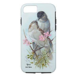 Black Cap Warbler Case For iPhone 7