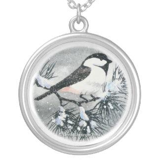 Black Capped Chickadee Bird Jewelry