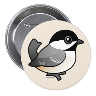 Black-capped Chickadee Button
