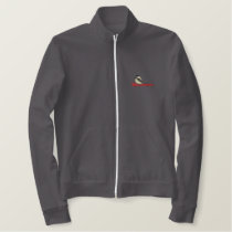 Black-capped Chickadee Embroidered Jacket