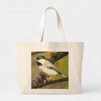 Black Capped Chickadee (Maine and Massachusetts).j Jumbo Tote Bag