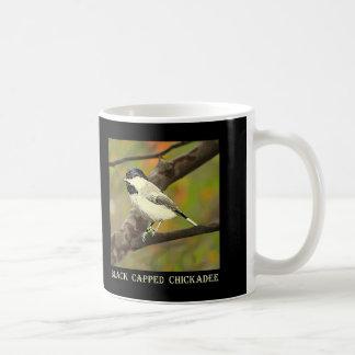 Black Capped Chickadee (Maine and Massachusetts).j Coffee Mug