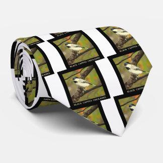 Black Capped Chickadee (Maine and Massachusetts).j Neck Tie