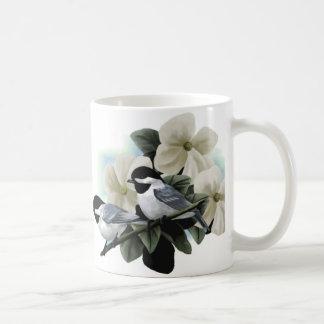Black capped chickadee Mugs
