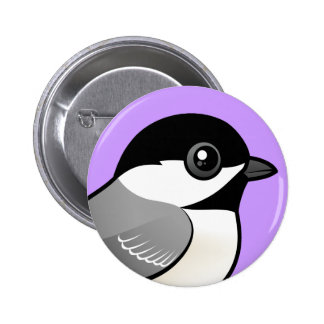Black-capped Chickadee Pinback Button