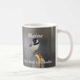 Black-capped Chickadee state bird Coffee Mug