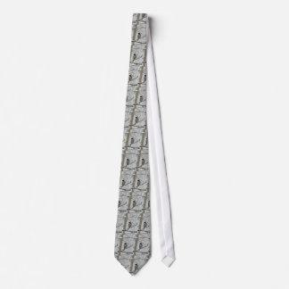 Black-Capped Chickadee Tie