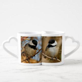 Black-Capped Chickadees Coffee Mug Set