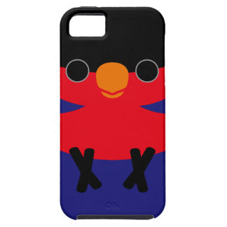 Black-capped Lory iPhone 5 Covers