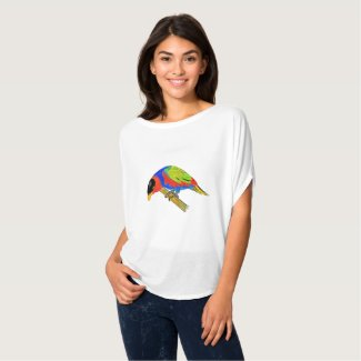 Black-capped Lory (Lorius lory) T-Shirt