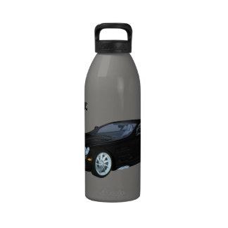 Black Car Liberty Bottle Reusable Water Bottles