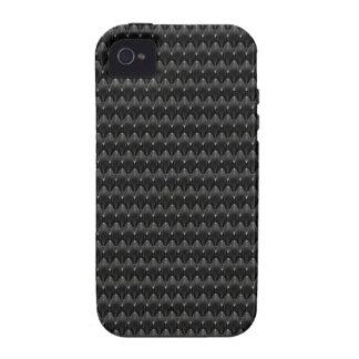 Black Carbon Fiber Alien Skin Case-Mate iPhone 4 Cover