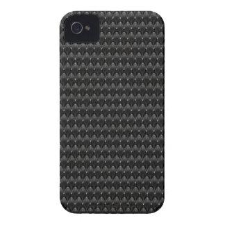 Black Carbon Fiber Alien Skin iPhone 4 Covers