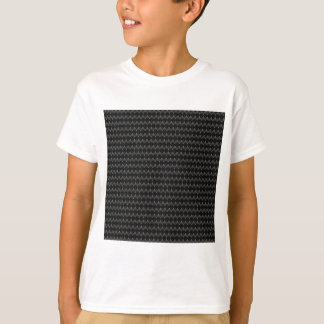 Black Carbon Fiber Alien Skin T-Shirt